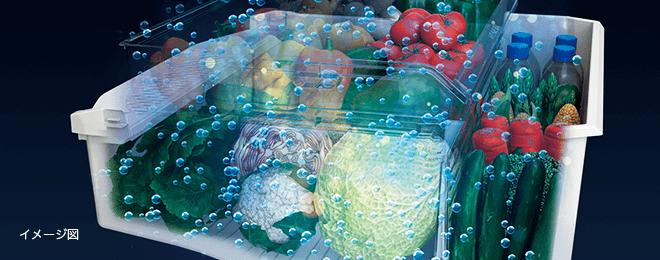 野菜室のおすすめ機能