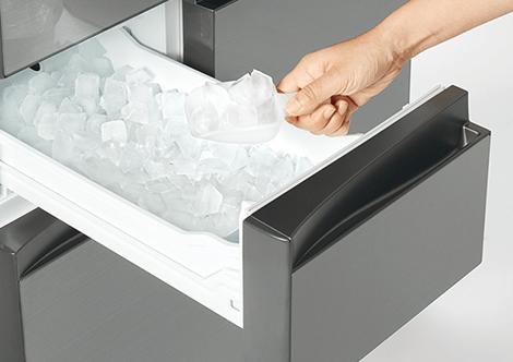 製氷室のおすすめ機能