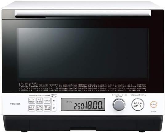 【東芝】石窯ドーム過熱水蒸気オーブンレンジ「ER-VD100」