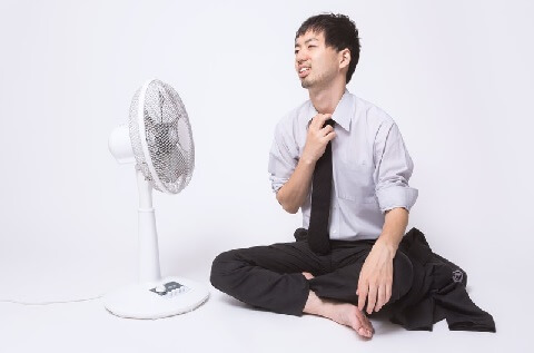扇風機は心地いい風を作り出せるかが重要