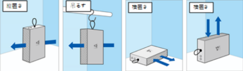 【ループストリーマ】設置しやすく、使いやすい