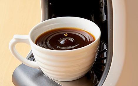 清潔なコーヒーメーカーで淹れられる