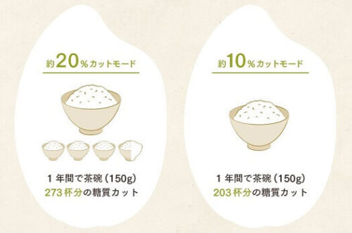 糖質カットできる炊飯器