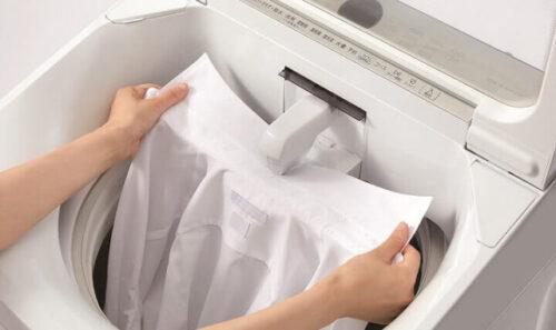 超音波洗浄機能を洗濯機に搭載は業界初!