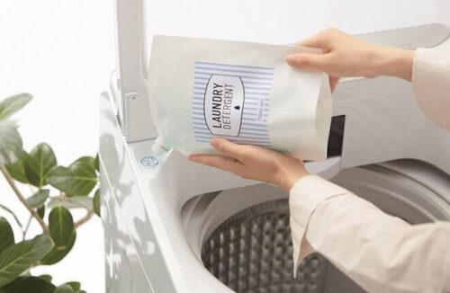 「超便利」液体洗剤自動投入機能を搭載