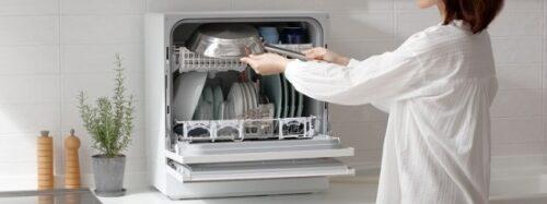 収納性が抜群「食器や調理器具が一度に洗える」