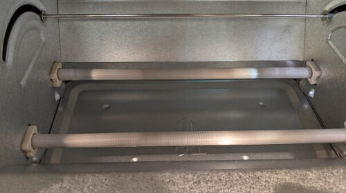 オーブントースターの下ヒーター