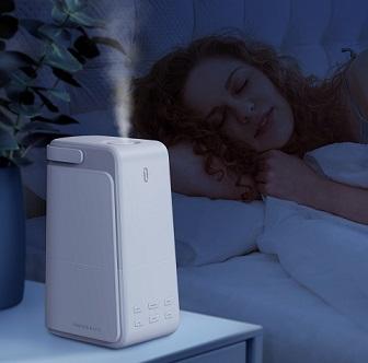 超静音設計だから就寝時に気にならない