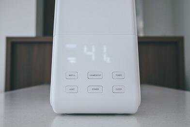 加湿器デジタル表示