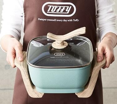 【まとめ】Toffy コンパクトマルチ電気鍋K-HP3