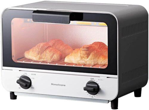【モノクローム】オーブントースター「KOS-0870」