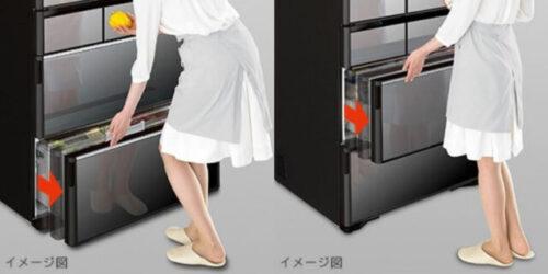 電動引き出し(冷凍室下段・野菜室)