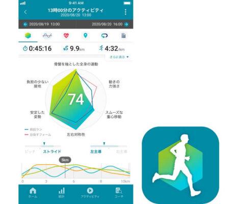 gsw-h1000はスマホアプリと連携で見やすく分析できる