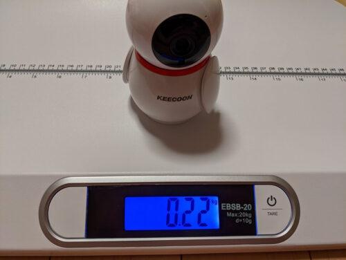 KEECOONカメラ重さ