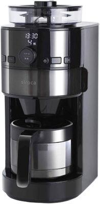 【シロカ】コーン式全自動コーヒーメーカー「SC-C121」