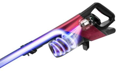 吸引力をアップさせた「大風量高圧3Dファンモーター」
